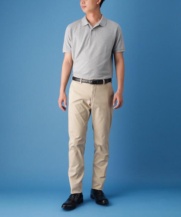 ポロシャツ×ストレートチップのコーディネートイメージ画像