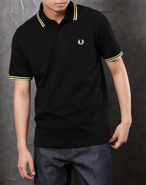 FRED PERRY/TWIN TIPPED FRED PERRY SHIRT(M12)コーディネート