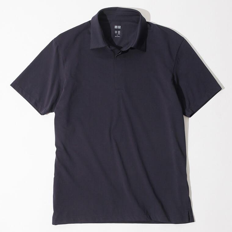 UNIQLO/エアリズムジャージーポロシャツの画像