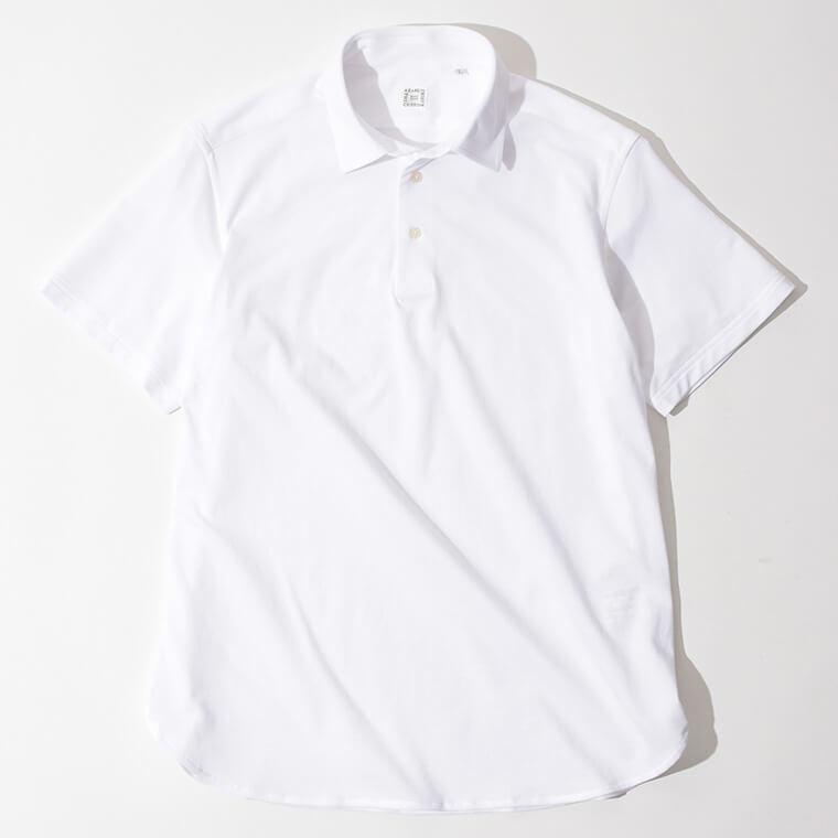 AZABU THE CUSTOM SHIRTS/半袖プルオーバーポロシャツの画像