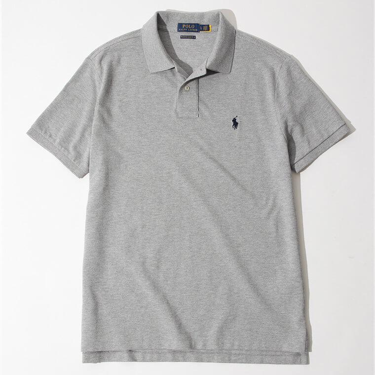 POLO RALPH LAUREN/カスタム スリム フィット メッシュ ポロシャツの画像