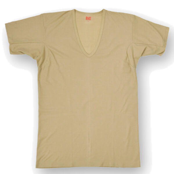 B.V.D.|Vネック半袖Tシャツの画像